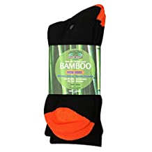 Bamboo Socks (3-Pack) Moneysworth and Best (Women's/Men's, Crew/Ankle/No Show)
