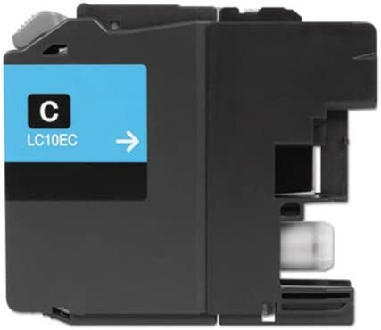 CLC10EC XXL Super High Yield; Cyan Ink Replacement for Brother LC10EC; Models MG Compatible Inkjet Cartridges MFC J6925DW