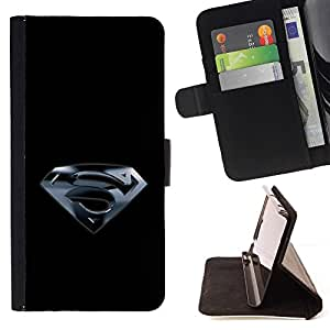 For Apple Iphone 5C Superhero S Style PU Leather Case Wallet Flip Stand Flap Closure Cover