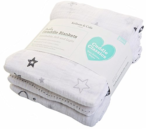 Kelham Cole Blankets Breathable Swaddles product image