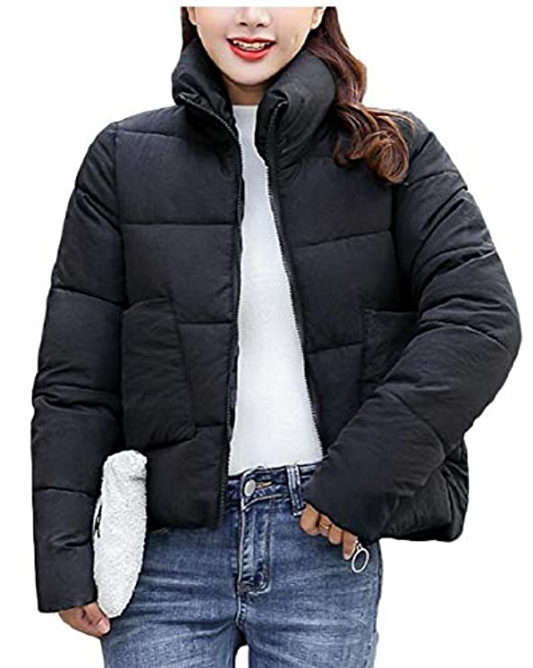 Short Jacket Down Zipper Coat Parka Qiangjinjiu Puffer Stand Collar Women qvHnwxwSYR