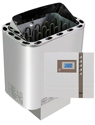 Sawo Nordex Saunaofen 8 kW + Saunasteuerung Eos Emotec B 6000 für die finnische Sauna + Steine