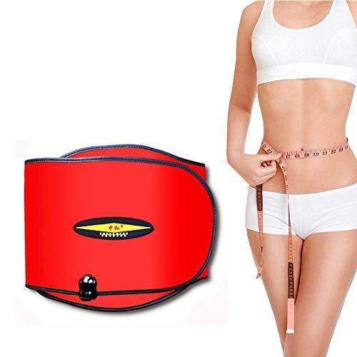 Gulakey 電気振動スリミングマッサージベルト、4モーターズと女性&男性のための10モードでの遠赤外線暖房サウナベルト、40〜70℃