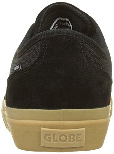 Mahalo black 20351 Gum Globe Homme De Noir mid Chaussures Skateboard FCqSw