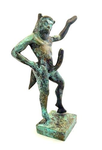 Iconsgr Ancient Greek Bronze Museum Statue Replica of Pan (1206)