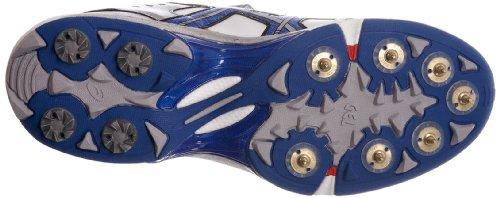 Asics Gel Speed Menace - Calzado de críquet Hombre White/Super Blue/Black