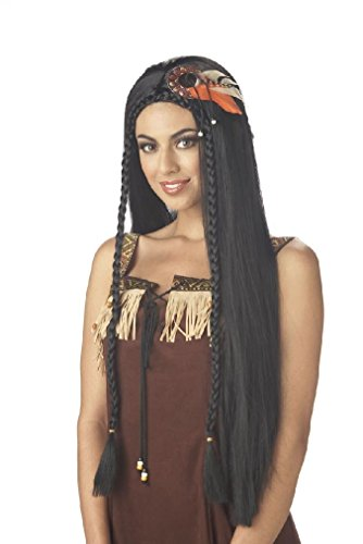 [Fancy Sexy Indian Princess Pocahontas Costume Wig] (Pocahontas Wig)