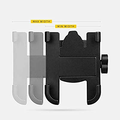 Aluminum Alloy Mobile Phone Holder Bracket Mount for Motorcycle Mountain Bicycle for Cellphones for iPhone Xs Max XR XS X 7 8 Plus 6s 6 for Samsung Galaxy S9 S9+ S10 S10e S8 S7 S6