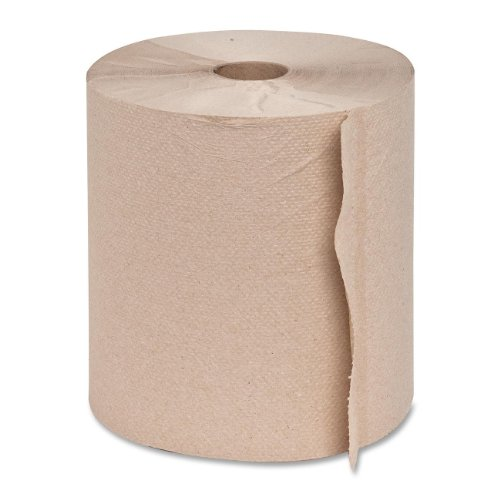 Genuine Joe GJO22600 Hard Wound Roll Towel, 800' Length x 7-8/9