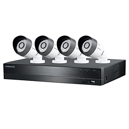 Amazon.com : Samsung Techwin 4 Channel HD Security System, 1TB HDD, 720P Weatherproof Bullet Cameras, 82\u0027 Night Vision Camera \u0026 Photo HDD