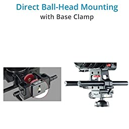 CAMTREE HUNT Mod Cage Rig for Blackmagic Pocket Cinema Camera BMPCC (CH-MODC-BMPC) with Top Handle, Rod Support and Storage Case