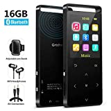 Bluetooth 16GBMP3 Player,3.5mm AUX InputRecording,FM Radio/Voice Recorder, Lossless Sound,Metal Casing, 1.8 inch Color