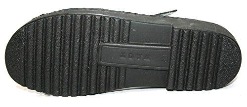 Naot - Scarpe con cinturino alla caviglia Donna, nero (Silber (Sterling)), 38 EU