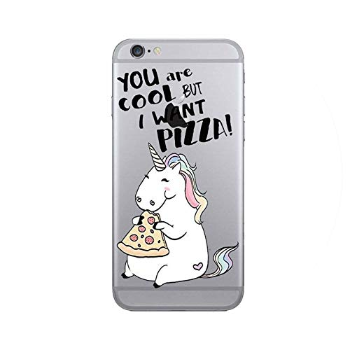 Transparent Soft TPU Flower Unicorn Flamingo Fruit Patterned Phone Cases for iPhone 7 8 6 6S 5 5S SE Clear Cases Back Cover Capa,14,for iPhone 6 6S