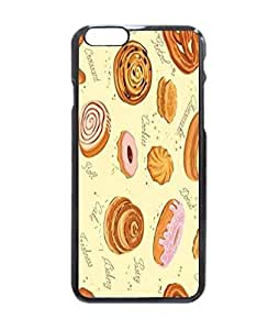 """Original Customized Butter Cake Rott Donut Cookies Fuuny Printed Hard Customized Case Cover , iPhone 6 Plus (5.5"""") Case Cover, Protection Quique Cover, Perfect fit, Show your own personalized phone Case for iPhone 6 Plus - 5.5 inches"""