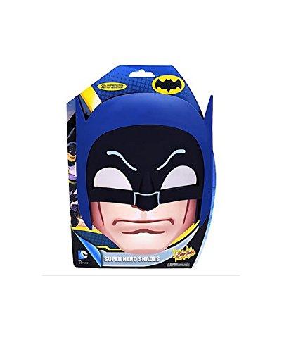 Sunstaches DC Comics Batman Classic Mask Sunglasses, Party Favors, UV400 by Sun-Staches
