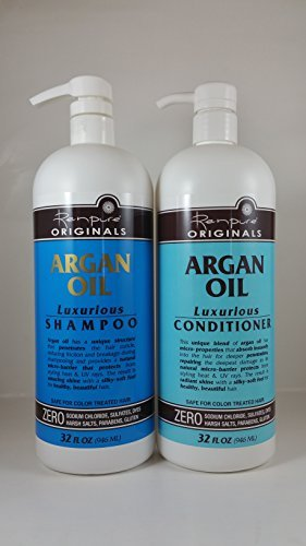 Renpure Originals Argan Oil Shampoo & Conditioner, 32 Ounce Bundle by RENPURE