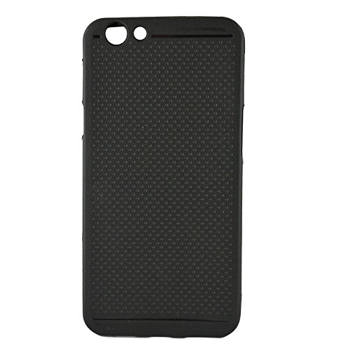 Oppo-F1S-Back-Cover-Black-Dotted-Soft-Silicone-Back-Cover-Case-For-Oppo-F1S-Back-Cover
