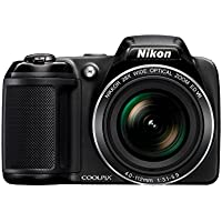 Nikon Coolpix L340 20.2 MP Digital Camera with 28x...