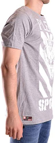 PLEIN SPORT Fashion Mens P17CMTK0585SJY001N1046 Grey T-Shirt | Season Permanent