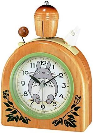 RMXMY クリエイティブチンチラかわいい木製漫画木製子供部屋鈴木リズムファッションシンプル寝室ベッドサイド小さな目覚まし時計