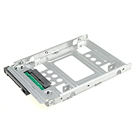 "General 2.5"" SSD to 3.5"" SATA Hard Disk Drive HDD Adapter Caddy Tray CAGE Hot Swap Plug 20 Adapts any 2.5"" SATA SSD or hard drive for use in any 3.5"" drive tray Designed for hot-swap capable drive cages and cases Can be used anywhere a 3.5"" drive is normally used, including computer drive bays and side or bottom mount drive enclosure trays"