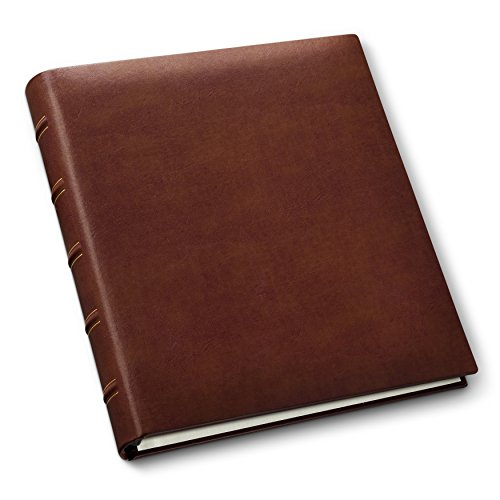 Leather Bound Album - Gallery Leather Classic Leather Album, British Tan