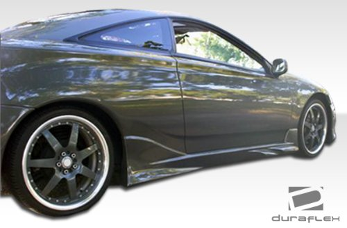 2000-2005 Toyota Celica Duraflex Vader Side Skirts Rocker Panels - 2 Piece (Fiberglass Side Skirt)