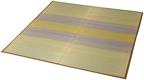 イケヒコ い草ラグ ラグ カーペット 3畳 長方形 『DXノース』 ベージュ 約176×230cm (裏:不織布)♯8170110