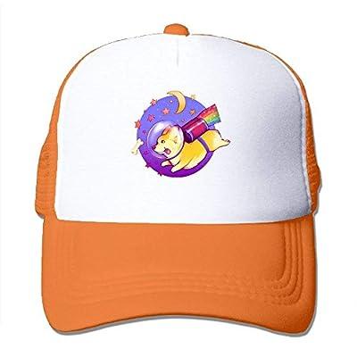 Flying Corgi Adjustable Baseball Cap Custom Snapback Mesh Trucker Hat by cxms