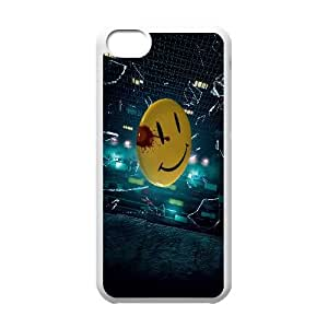 Watchmen Movie iPhone 5c Cell Phone Case White Transparent Protective Back Cover 995