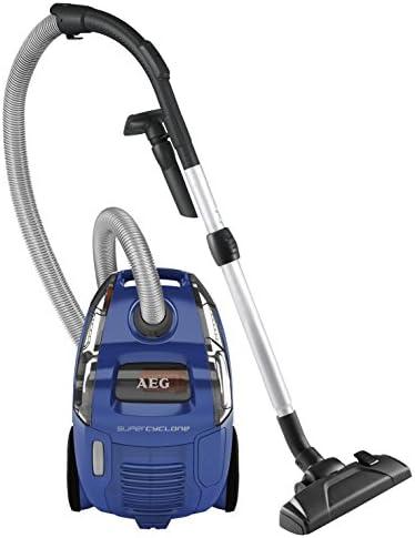 AEG SCORIGIN Aspirador ciclónico sin bolsa, con cepillo DustPro de doble posición, color azul, 1400 W, 4 litros, 78 Decibelios: Amazon.es: Hogar