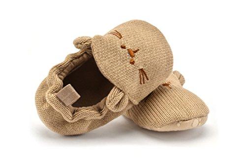 Baby Mädchen Jungen erste Wanderer Schuhe Indoor Soft Sohle Non Slip Kleinkind Schuhe Bär