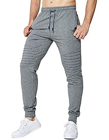 14f4dfcd391deb LBL Men's Jogging Pants Workout Trousers Running Slim Fit Sports Gym  Sweatpants