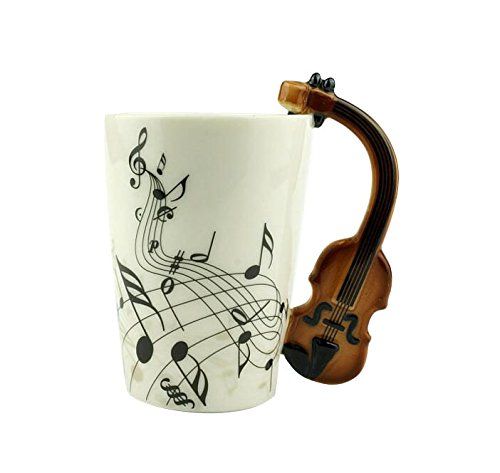 GAMT Ceramic Violin Couple Coffee product image