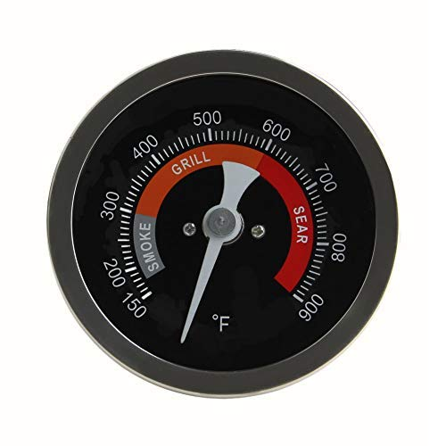 Grill Temperature Gauge For Big Green Egg 150-900°F Waterproof 3 1/4 Large Face Stainless Steel Cooking Thermometer For Barbecue Charcoal Grill Big Green Egg Thermometer Replacement Accessories Tool