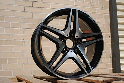 (19 inches AMG Mercedes Benz Wheels Rims CL63 AMG Double Spokes Style Black Series CLS63 CLS500 CLS550 CLS55)