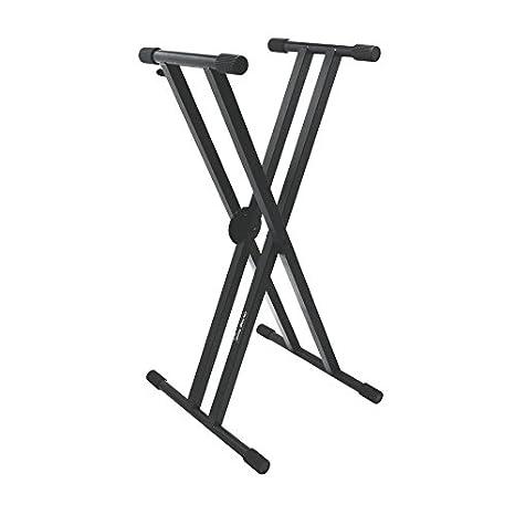 Sobre el escenario KS7291 Pro Double X soporte para teclado: Amazon.es: Instrumentos musicales