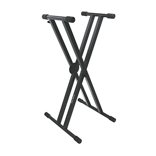 On Stage KS7291 Pro Double X Keyboard Stand