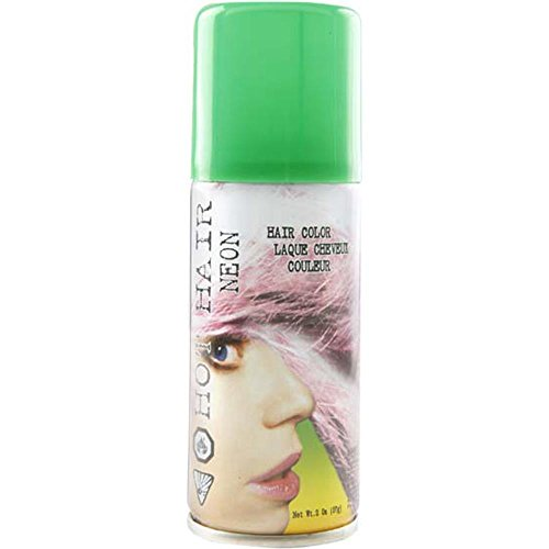 Costume Green Colored Hair Spray