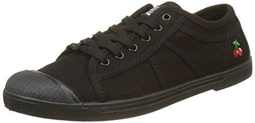Le Mono Negro 02 mono Black Cerises Des Para Basic Zapatillas Mujer Temps Black 4qrP8xw4