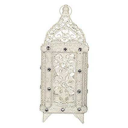 Table Living RoomsBedrooms Lantern Chic Desk Style Moroccan Shabby Lamp Vintage Vintage White qMGjLSVpUz