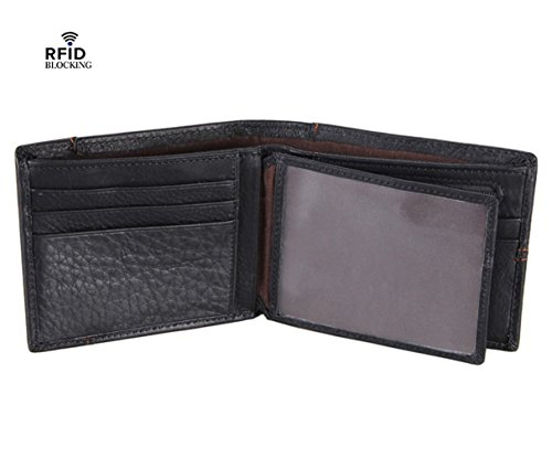 TIBES Genuine Leather Bifold Wallet product image