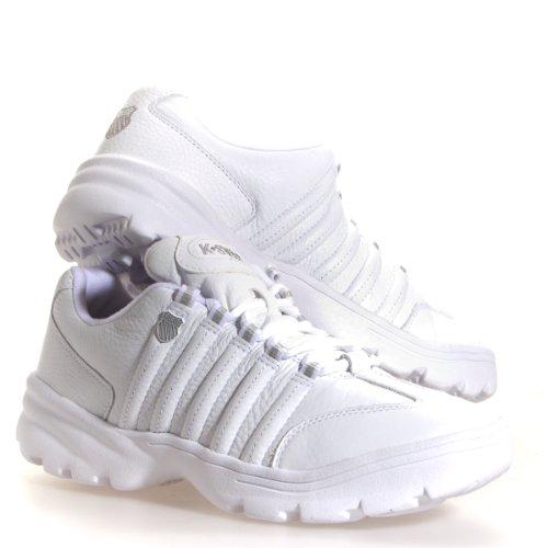 K-Swiss Men's Altezo Iii Sneakers,White,11.5 M