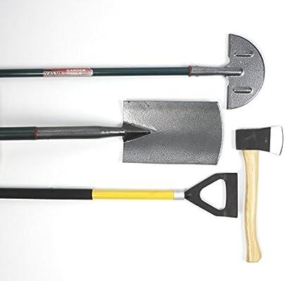 Multi-Sharp 1301 Afilador de Cuchillas Multiuso para Cortacésped Rotativo, Espadas, Azadas, Corta Césped, Hachas y Otras Herramientas de Jardín