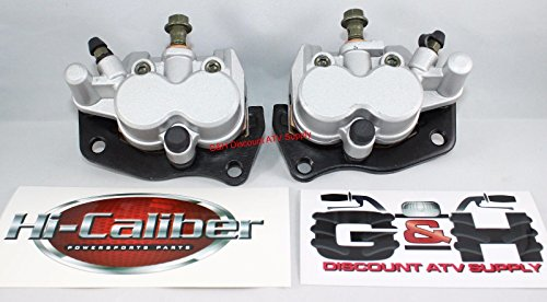 QUALITY Yamaha YXR 450 660 700 Rhino Front Left & Right Brake Calipers & Pads + Decals -  Hi-Caliber Powersports Parts, HC3CDBC