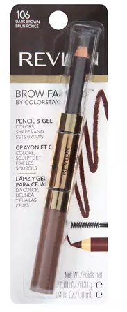 Revlon Brow Fantasy Defining Pencil - Dark Brown  - 2 Pack
