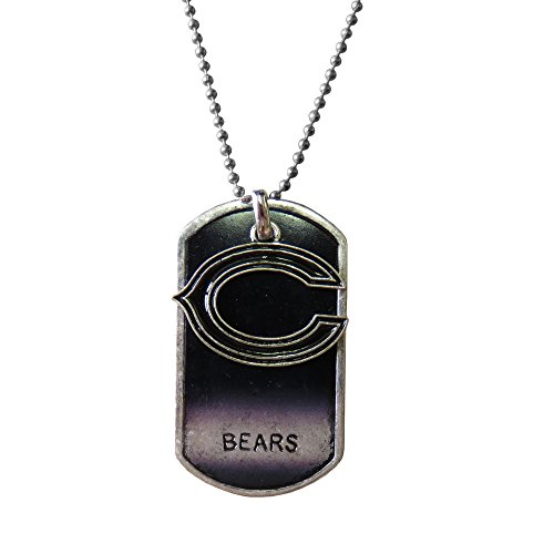 NFL Chicago Bears Dog Tag Charm Necklace