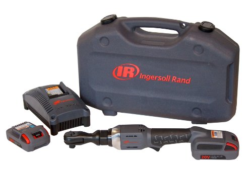 Ingersoll Rand R3130-K2 3 8-Inch Cordless Ratchet, 2 Li-on Batteries, Charger and Case