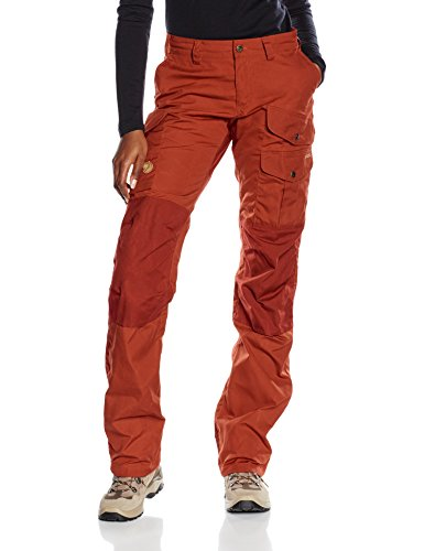 Trousers Pantaloni Deep Red llr ven Pro Fj Donna Barents wIFqaCv